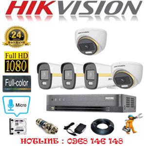 Lắp Đặt Trọn Bộ 5 Camera Hikvision 2.0Mp (Hik-2245346)-HIK-2245346