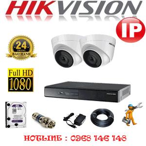 Lắp Đặt Trọn Bộ 2 Camera Ip Hikvision 2.0Mp (Hik-224700)-HIK-224700