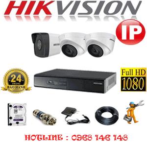 Lắp Đặt Trọn Bộ 3 Camera Ip Hikvision 2.0Mp (Hik-2247148)-HIK-2247148