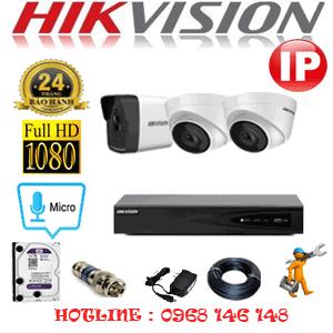 Lắp Đặt Trọn Bộ 3 Camera Ip Hikvision 2.0Mp (Hik-2249150)-HIK-2249150