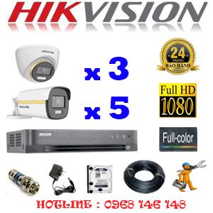 Lắp Đặt Trọn Bộ 8 Camera Hikvision 2.0Mp (Hik-2343544)-HIK-2343544