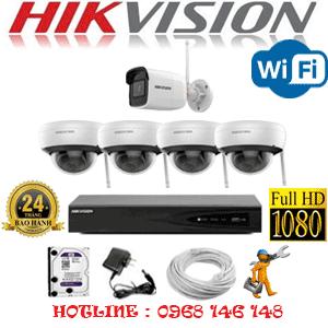 Lắp Đặt Trọn Bộ 5 Camera Wifi Hikvision 2.0Mp (Hik-2415116)-HIK-2415116