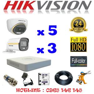 Lắp Đặt Trọn Bộ 8 Camera Hikvision 2.0Mp (Hik-2539340)-HIK-2539340