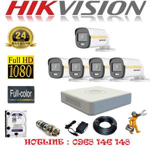 Lắp Đặt Trọn Bộ 5 Camera Hikvision 2.0Mp (Hik-254000)-HIK-254000