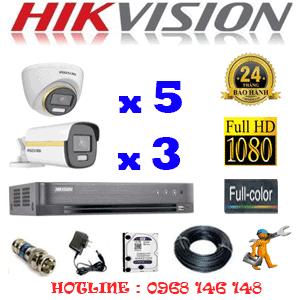 Lắp Đặt Trọn Bộ 8 Camera Hikvision 2.0Mp (Hik-2543344)-HIK-2543344