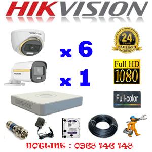 Lắp Đặt Trọn Bộ 7 Camera Hikvision 2.0Mp (Hik-2639140)-HIK-2639140