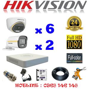 Lắp Đặt Trọn Bộ 8 Camera Hikvision 2.0Mp (Hik-2639240)-HIK-2639240