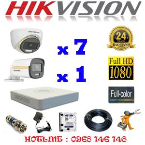 Lắp Đặt Trọn Bộ 8 Camera Hikvision 2.0Mp (Hik-2739140)-HIK-2739140