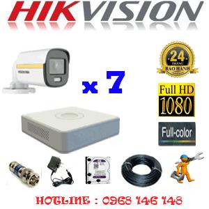Lắp Đặt Trọn Bộ 7 Camera Hikvision 2.0Mp (Hik-274000)-HIK-274000