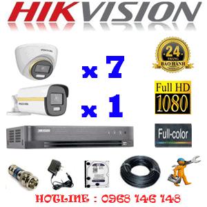 Lắp Đặt Trọn Bộ 8 Camera Hikvision 2.0Mp (Hik-2743144)-HIK-2743144