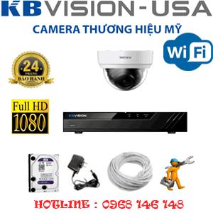 Lắp Đặt Trọn Bộ 1 Camera Wifi Kbvision 2.0Mp (Kb-212500)-KB-212500