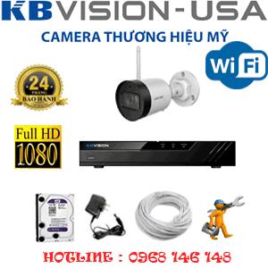 Lắp Đặt Trọn Bộ 1 Camera Wifi Kbvision 2.0Mp (Kb-212600)-KB-212600