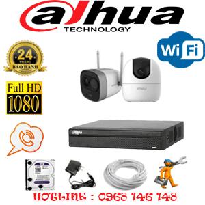 Lắp Đặt Trọn Bộ 2 Camera Wifi Dahua 2.0Mp (Dah-2139140)-DAH-2139140