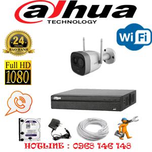 Lắp Đặt Trọn Bộ 1 Camera Wifi Dahua 2.0Mp (Dah-214000)-DAH-214000