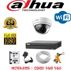 Lắp Đặt Trọn Bộ 1 Camera Wifi Dahua 2.0Mp (Dah-214100)-DAH-214100