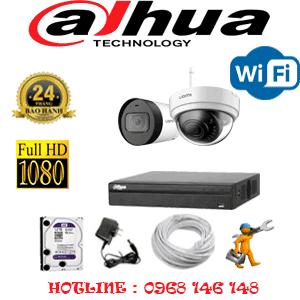 Lắp Đặt Trọn Bộ 2 Camera Wifi Dahua 2.0Mp (Dah-2141142)-DAH-2141142