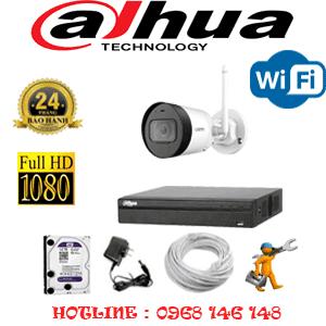 Lắp Đặt Trọn Bộ 1 Camera Wifi Dahua 2.0Mp (Dah-214200)-DAH-214200