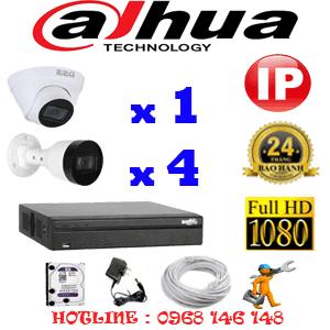 Lắp Đặt Trọn Bộ 5 Camera Ip Dahua 2.0Mp (Dah-2145446)-DAH-2145446