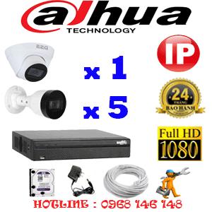 Lắp Đặt Trọn Bộ 6 Camera Ip Dahua 2.0Mp (Dah-2145546)-DAH-2145546