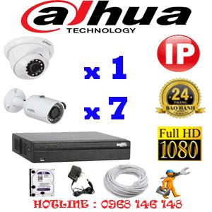Lắp Đặt Trọn Bộ 8 Camera Ip Dahua 2.0Mp (Dah-2149750)-DAH-2149750