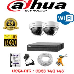 Lắp Đặt Trọn Bộ 2 Camera Wifi Dahua 2.0Mp (Dah-224100)-DAH-224100