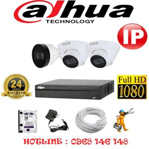 Lắp Đặt Trọn Bộ 3 Camera Ip Dahua 2.0Mp (Dah-2245146)-DAH-2245146