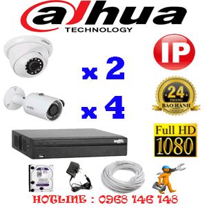 Lắp Đặt Trọn Bộ 6 Camera Ip Dahua 2.0Mp (Dah-2249450)-DAH-2249450
