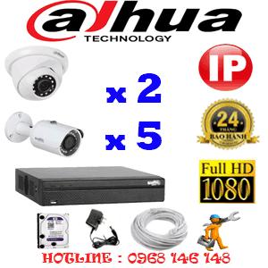 Lắp Đặt Trọn Bộ 7 Camera Ip Dahua 2.0Mp (Dah-2249550)-DAH-2249550