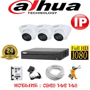 Lắp Đặt Trọn Bộ 3 Camera Ip Dahua 2.0Mp (Dah-234500)-DAH-234500