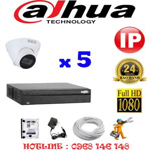 Lắp Đặt Trọn Bộ 5 Camera Ip Dahua 2.0Mp (Dah-254500)-DAH-254500