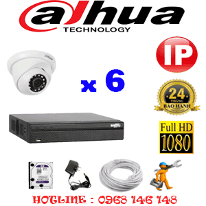 Lắp Đặt Trọn Bộ 6 Camera Ip Dahua 2.0Mp (Dah-264900)-DAH-264900