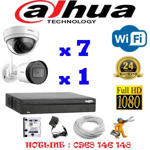 Lắp Đặt Trọn Bộ 8 Camera Wifi Dahua 2.0Mp (Dah-2741142)-DAH-2741142
