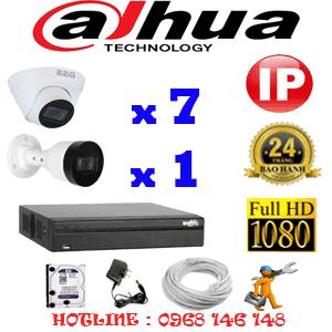 Lắp Đặt Trọn Bộ 8 Camera Ip Dahua 2.0Mp (Dah-2745146)-DAH-2745146