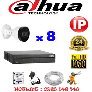Lắp Đặt Trọn Bộ 8 Camera Ip Dahua 2.0Mp (Dah-2745146)-DAH-284600