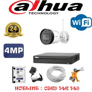 Lắp Đặt Trọn Bộ 1 Camera Wifi Dahua 4.0Mp (Dah-414400)-DAH-414400