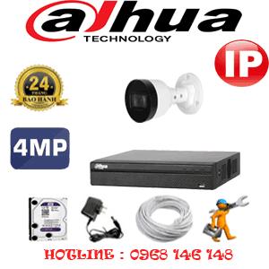 Lắp Đặt Trọn Bộ 1 Camera Ip Dahua 4.0Mp (Dah-414800)-DAH-414800