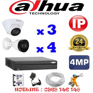 Lắp Đặt Trọn Bộ 7 Camera Ip Dahua 4.0Mp (Dah-4347448)-DAH-4347448