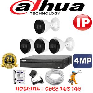 Lắp Đặt Trọn Bộ 4 Camera Ip Dahua 4.0Mp (Dah-444800)-DAH-444800