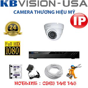 Lắp Đặt Trọn Bộ 1 Camera Ip Kbvision 2.0Mp (Kb-213100)-KB-213100