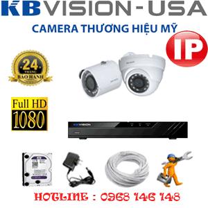Lắp Đặt Trọn Bộ 2 Camera Ip Kbvision 2.0Mp (Kb-2131132)-KB-2131132