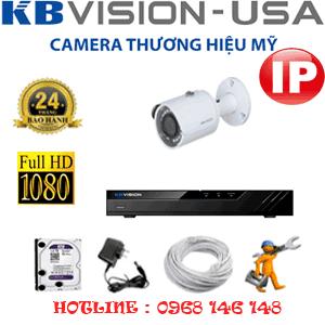 Lắp Đặt Trọn Bộ 1 Camera Ip Kbvision 2.0Mp (Kb-213200)-KB-213200