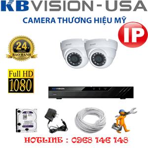 Lắp Đặt Trọn Bộ 2 Camera Ip Kbvision 2.0Mp (Kb-223100)-KB-223100