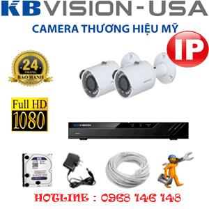 Lắp Đặt Trọn Bộ 2 Camera Ip Kbvision 2.0Mp (Kb-223200)-KB-223200