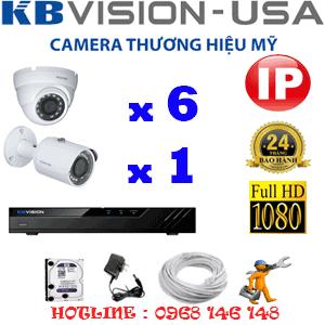Lắp Đặt Trọn Bộ 7 Camera Ip Kbvision 2.0Mp (Kb-2631132)-KB-2631132
