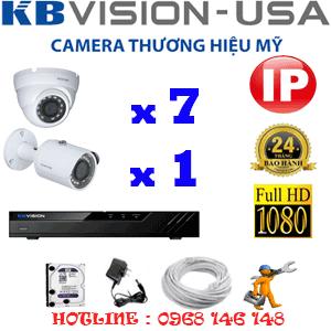 Lắp Đặt Trọn Bộ 8 Camera Ip Kbvision 2.0Mp (Kb-2731132)-KB-2731132