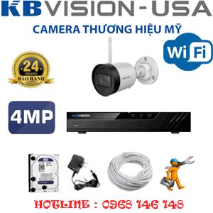 Lắp Đặt Trọn Bộ 1 Camera Wifi Kbvision 4.0Mp (Kb-412800)-KB-412800