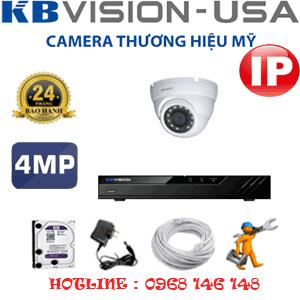 Lắp Đặt Trọn Bộ 1 Camera Ip Kbvision 4.0Mp (Kb-413500)-KB-413500