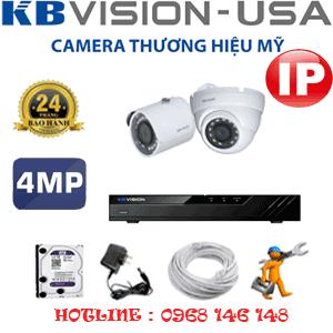 Lắp Đặt Trọn Bộ 2 Camera Ip Kbvision 4.0Mp (Kb-4135136)-KB-4135136