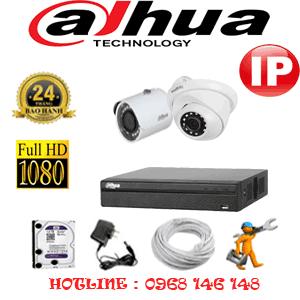 Lắp Đặt Trọn Bộ 2 Camera Ip Dahua 2.0Mp (Dah-2149150)-DAH-2149150