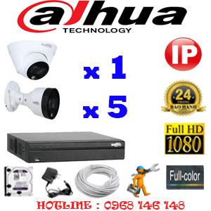 Lắp Đặt Trọn Bộ 6 Camera Ip Dahua 2.0Mp (Dah-2151552)-DAH-2151552